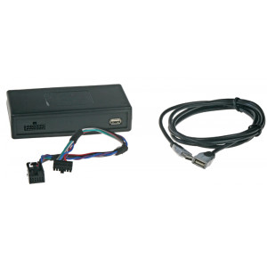 Adaptér pro ovládání USB zařízení OEM rádiem Peugeot, Citroen