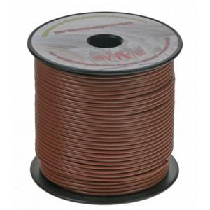 Kabel 1,5 mm, hnědý 100 m bal