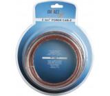 Napájecí kabel IMPACT 10mm2 transparentní, role 7m