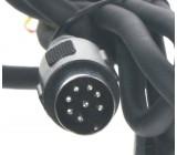Adaptér pro ovládání USB zařízení OEM rádiem Volvo HU601/HU603/HU650/AUX vstup