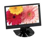 """LCD digitální monitor 9"""" do opěrky s IR vysílačem"""