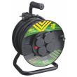 Gumový prodlužovací kabel na bubnu-4 zásuvky 25m