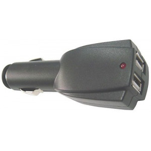 Autoadaptér USB YLC-211 2x5V 2x1A