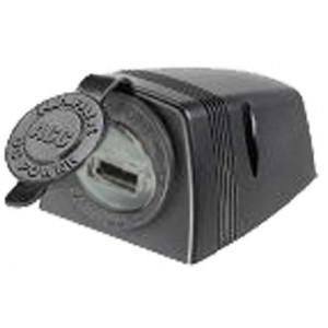 USB zásuvka ve voděodolném přídavném panelu