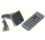 MP3/FM modulátor bezdrátový s USB/SD/AUX vstupem do CL s dálkovým ovladačem