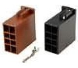 Souprava zásuvka ISO 16 pinů, dvě tělesa zásuvek ISO