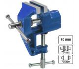 Svěráček 70mm kovový pevný uchycení svorkou
