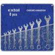Očkoplochý klíč CrV Extol Premium-sada 8ks