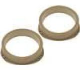 MDF kroužky pro repro na Opel Astra I 165mm
