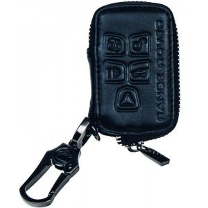Kožený obal se zipem černý pro klíč Land Rover Freelander 2
