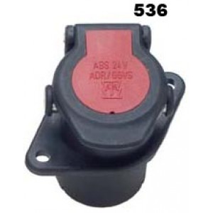 zásuvka 24V 7P ABS/EBS ADR
