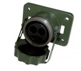 zásuvka 2P hliník 35-50mm2 JAEGER (NATO)