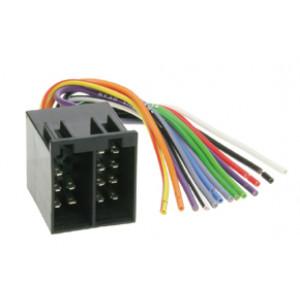 konektor ISO osazený kolíky a vodiči