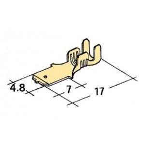 konektor 4,8mm 0,5-1mm kolík