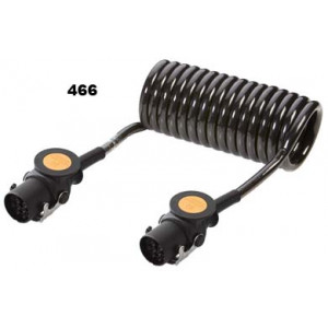 kabel spirálový 24V 13P ADR 4,5m průměr spirály 110mm