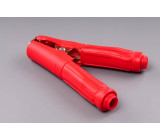 kleště bateriové 500A červené gumová izolace 165mm
