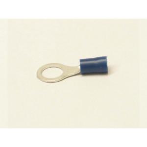 kabelové oko 8 mm drát 1,5-2,5mm izolované modré