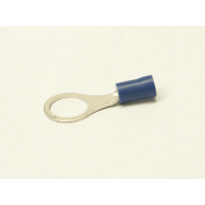 kabelové oko 10mm drát 1,5-2,5mm izolované modré
