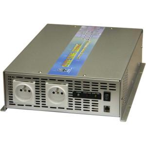 měnič napětí z 24V DC na 230V AC 2000W sinus