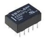 AZ850P2-12 Relé elektromagnetické DPDT Ucívky:12VDC 0,5A/125VAC 1A 50VA