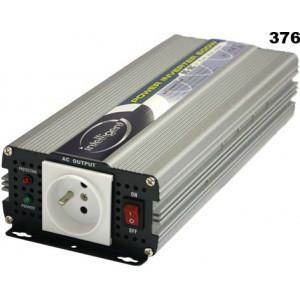 měnič napětí z 12V DC na 230V AC 600W sinus