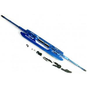 stěrač ocelový modrý 550mm