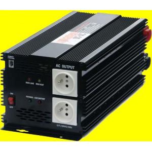 měnič napětí z 12V DC na 230V AC 3000W trvale