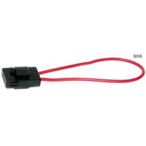 pojistkové pouzdro pro ploché poj. s vodičem 1,5mm