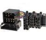 Zásuvka ISO26 vidlice ISO 36-řízení displeje-Opel