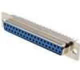 Zásuvka D-Sub 37 PIN zásuvka přímý THT zlacený