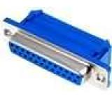 Zástrčka D-Sub 25 PIN zásuvka IDC na plochý kabel UNC4-40