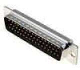 Zástrčka D-Sub 50 PIN vidlice pájení na kabel gold flash