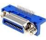 Konektor Centronics zásuvka 24 PIN THT úhlové 90°