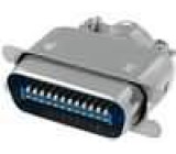 Konektor Centronics zástrčka vidlice 24 PIN pájení na kabel