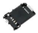 Konektor elektronické karty SIM signalizace zavření