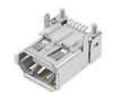 Zásuvka IEEE1394 SMT 6 PINvodorovné