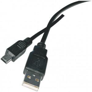 Kabel USB 2.0 A/M - mini B/M 2M