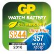 Knoflíková baterie do hodinek GP 357F, 10ks, papír. krabička