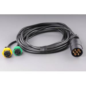 elektrokabeláž k vleku 7pin/4m bez světel