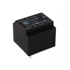 Trafo DPS 0,5VA 1x12V(0,42mA) 21,7x22,6x19 HAHN