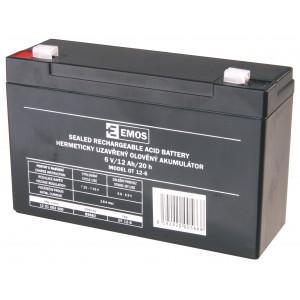 12V baterie (akumulátor) SLA 6V/12Ah Fa 4,7
