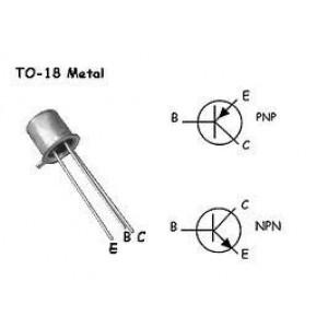 TR15 tranzistor PNP 10V/10mA spínací TO18