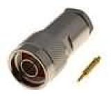Zástrčka N vidlice přímý 50Ω 3C2V, RG141,RG58 na kabel teflon