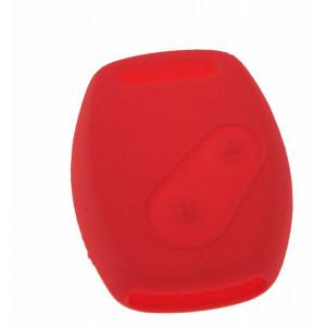 Silikonový obal pro klíč Honda Civic, CR-V 3-tlačítkový světle červený