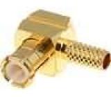 Zástrčka MCX vidlice úhlové 90° 50Ω RG174,RG188,RG316