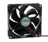 Ventilátor 12VDC 92x92x25mm 47,77m3/h 17,7dBA Vapo 0,9W