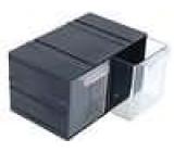 Plastová skříňka 103x115x134mm 2 zásuvky