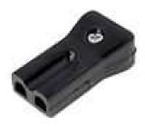 Síťová zásuvka na kabel IEC C8 AC230V/3A