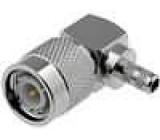 Vidlice TNC úhlová krimpovací 50Ohm typ kabelu RG58