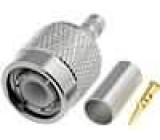 Vidlice TNC krimpovací 50Ohm typ kabelu RG55